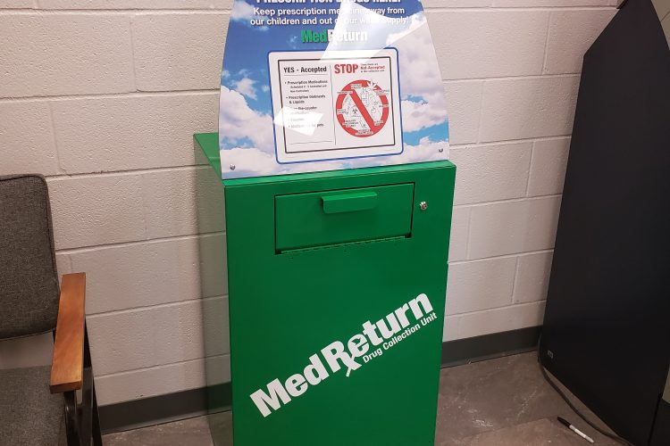 Madison County has a permanent MedReturn Drug Collection Unit