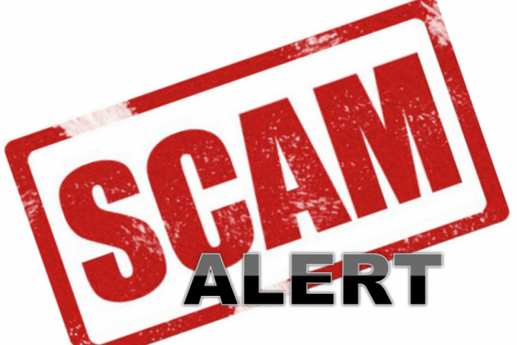 Reminder – Never give information to unknown callers
